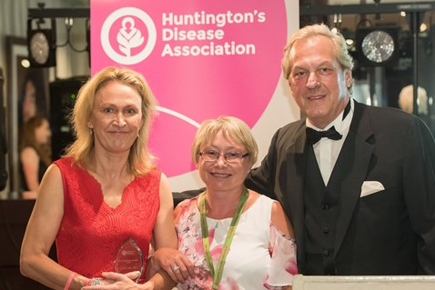 Linda wins Most Inspiring Volunteer award